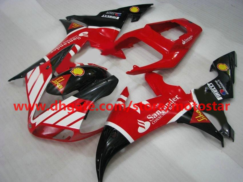 fairings fit for YAMAHA Santander 2002 2003 YZF-R1 02 03 YZFR1 YZF1000 YZF R1 fairing kit R1