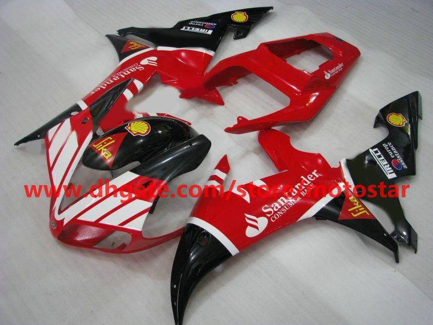 fairings fit for YAMAHA Santander 2002 2003 YZF-R1 02 03 YZFR1 YZF1000 YZF R1 fairing kit R1