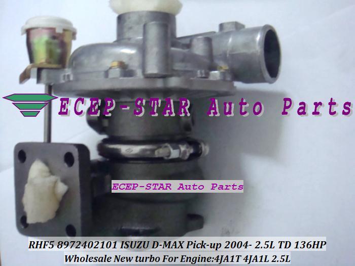 RHF5 VIDA 8972402101 8971856452 VA420037 VB420037 TURBINE Turbolader TURBO Für ISUZU D-MAX Pick-up 2004- 2.5L TD 4JA1T 4JA1L 4JA1-L 136HP