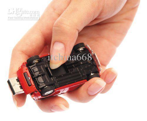 mini cooper Car shape real 2gb 4gb 8gb 16gb 32gb USB flash memory drive stick Pen drive thumb drive