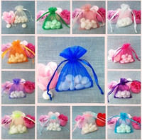 Wholesale Cheap Wholesale Designer Bags - 15%off!jewelry cheap designer bags Wedding Organza Candy Favour Bag (200 500 1000)pcs