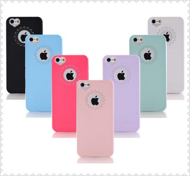 LOTTO STOCK 6 PEZZI cover custodia per IPHONE 5 5S ultra sottile