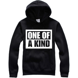 Sweatshirt Kinder Pas Cher-Unisex Black Sport Sweatshirts Hoodies One Of a Kind La même chose avec Bigbang coréen
