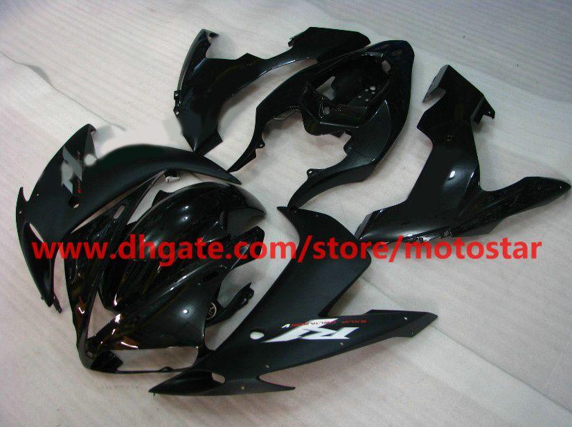 For 2004 2005 2006 YAMAHA YZF-R1 04 05 06 YZFR1 YZF1000 YZF R1 gloss & flat black fairings kit GF4K