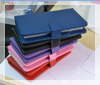 Wholesale Epad Keyboard Leather - Wholesales for 7 inch Tablet PC Epad USB keyboard case with stand holder free shipping in stock
