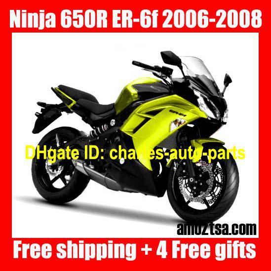D745 Fairing For Kawasaki Ninja 650r Er 6f 650 R Er6f 06 07 08 2006