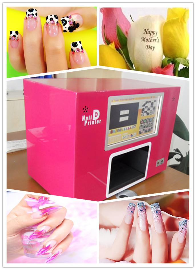 Nail Printing Machine / Digital Nail Art Printer /Pc Nail Printer ...