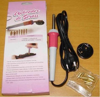 Wholesale 1set Hot Fix Rhinestone Applicator Wand W tips suit for V V