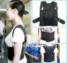 Wholesale Good Posture Back Brace - 3013004- Children Use Black Back Braces Good Posture Back Straightener Correct Posture Body Shaper