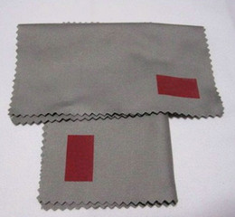 Wholesale Custom Cleaners - High-Quality Gray Sunglasses Cleaning Cloth ,Size 12.5cm * 12.5cm Can Custom Trademark Logo .