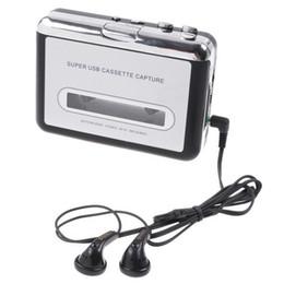 Wholesale Cassette Capture - Retro USB Cassette capture,Tape to PC Super Portable USB Cassette to MP3 Player Converter Capture
