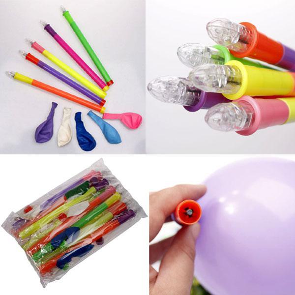 lotes de Presente de Natal LED Balão Balão Piscando Balão de Iluminação Brinquedos Fontes Do Partido