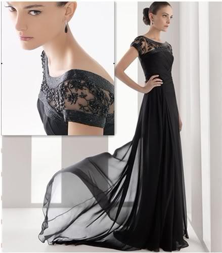 Simple Beautiful Black Formal Dresses