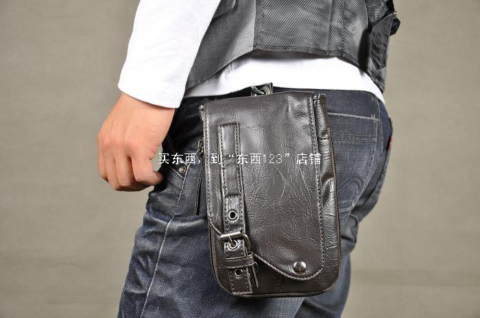 New Men'S Pu Leather Small Shoulder Messenger Bag,New Fashion ...
