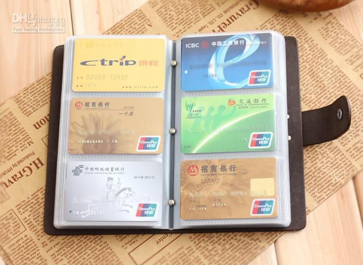 Credit card wallet for men