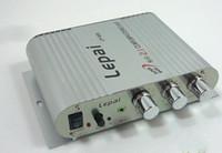 mini amplifikatörler stereo toptan satış-Lepai LP-838 3 Kanal Mini araba Amplifikatör Stereo güç amplifikatörü Ücretsiz kargo 1 adet S638