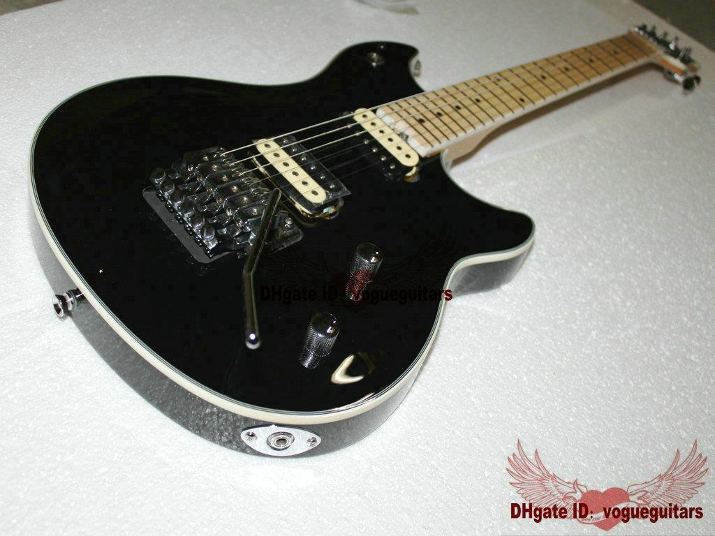 La nueva guitarra eléctrica negra personalizada de fábrica de China HOT C104
