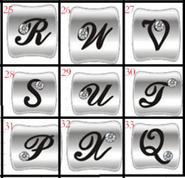 Wholesale Cheap Number Charm Beads - 6%off!2015new ,hot sale!Charm beads!Cheap inlaid diamond beads!Jewelry beads!for Pandora beads!50pcs lot