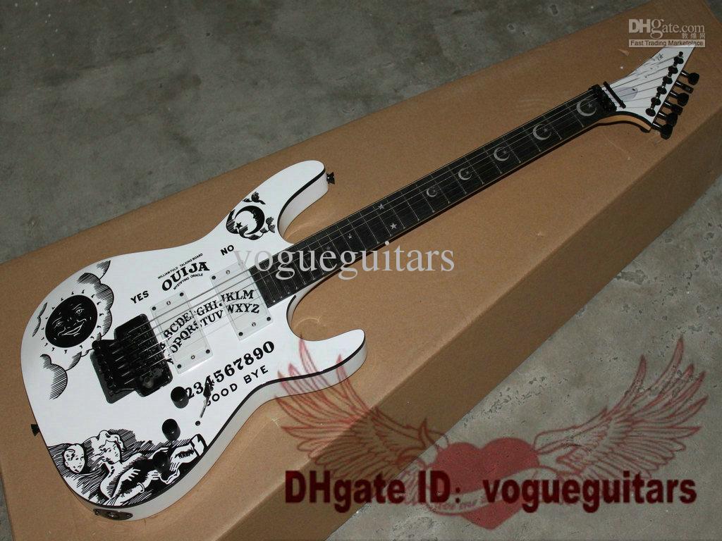 新しいスタイルの白いKH-2 OUIJA限定版エレクトリックギター