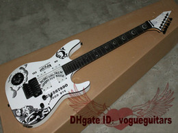 China new style white KH-2 OUIJA Limited Edition Electric Guitar in stock suppliers