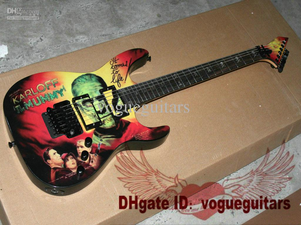 Hot Selling Gitaar KH2 Karloff Mummy 6 Strings Elektrische Gitaar Gratis Verzending