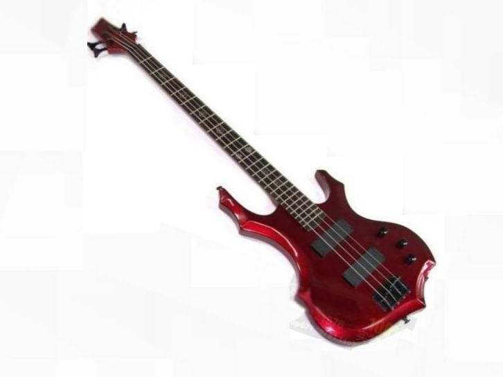 new best china abnormal 4 string bass electric bass guitar in metal red ltd bass guitar bass. Black Bedroom Furniture Sets. Home Design Ideas