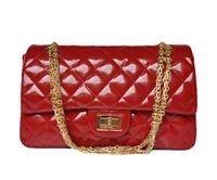 Wholesale Handbags Big Discount - Designer women handbags Luxury patent leather handbag hardware chain big discounted free shipping