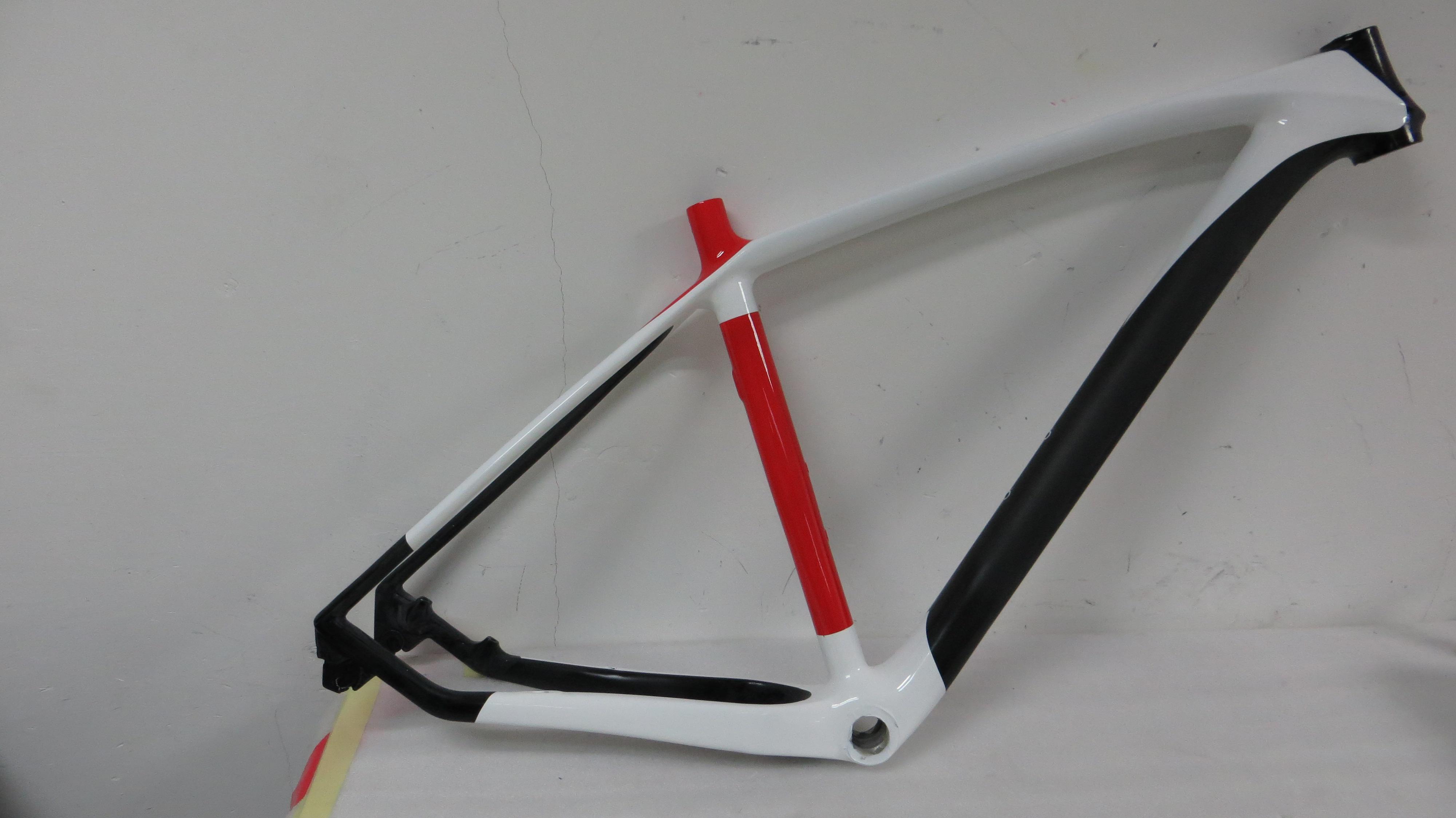 29er mountain bike carbon fiber frames 29er mtb carbon frameheadsetsclamp mtb carbon frame mountain bike frame carbon frame 29er online with 53719set - Mtb Frames