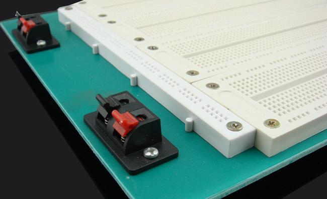 Envío Gratis 2900 Puntos PCB Tablero de Pan Sin Soldar con 27 Jumpwires gratis # BV042 @CF