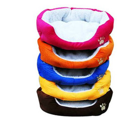 Wholesale Dog Sleeping - Lowest Price 4pc Gift Cute Warm Soft Comfortable Pet Dog Cat Bed Style Sleep Free #P03