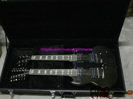 Wholesale China Guitars Neck - Free Hardcase Double Neck 6 12 Strings Electric Guitar From China High HOT C2631
