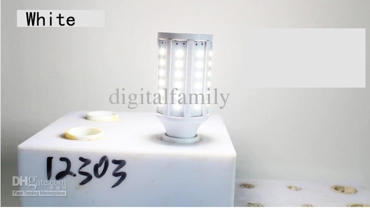 100X الدافئة الأبيض الصمام لمبات إضاءة الذرة 360 درجة 15W E27 E14 B22 E26 5630 SMD 60 المصابيح 2400LM الصمام ضوء مصباح 110V-130V 220V-240V بواسطة DHL