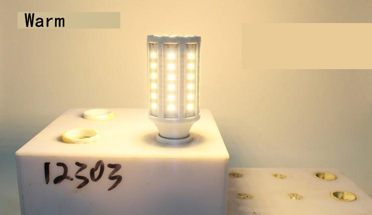 Lampadina a LED a 30 pezzi 15W E27 Lampadine a LED E14 B22 5630 SMD 60 LED 1800LM Lampada a risparmio energetico 110V-130V 220V-240V ad alta potenza da DHL