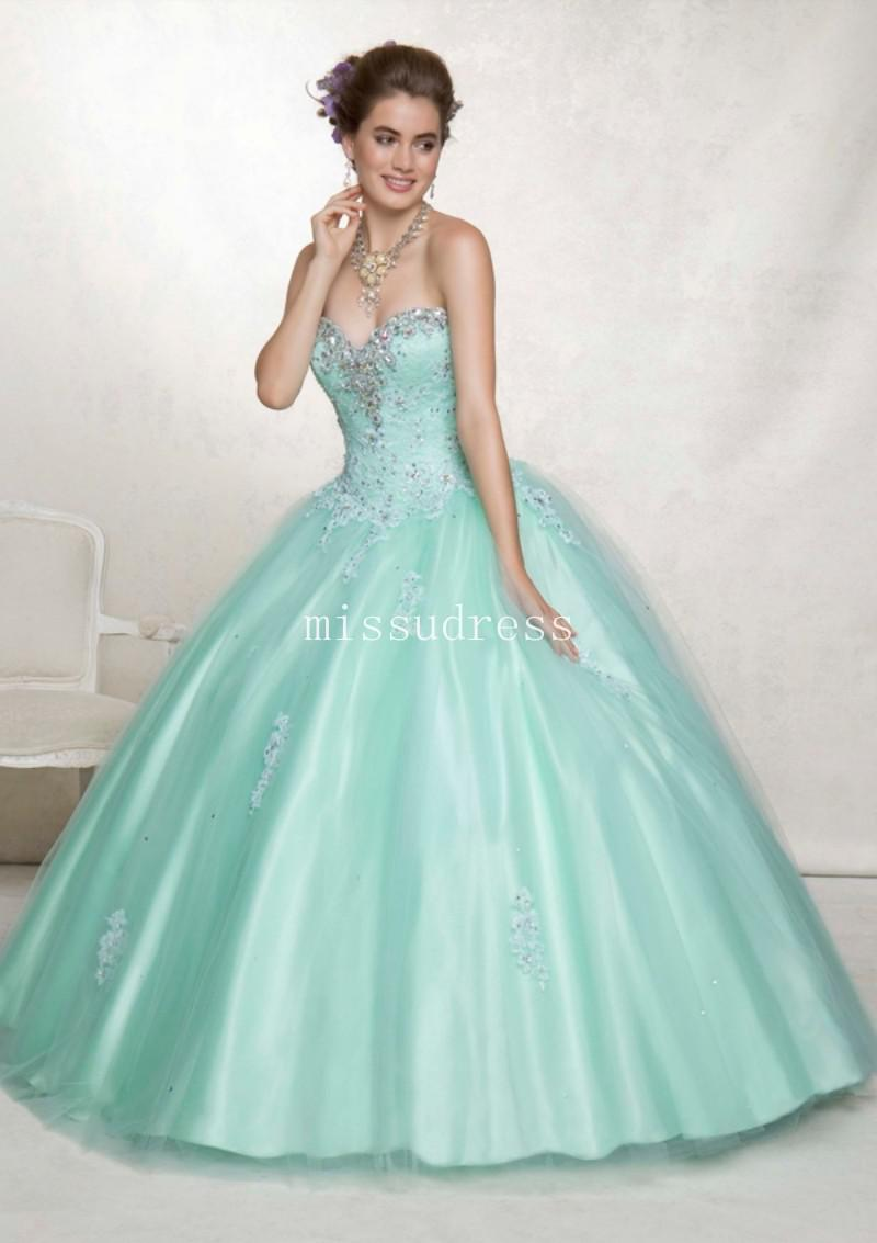 2013 Stylish Free Shipping Small Jacket Tulle Lace Applique Beading Ball Gown Quinceanera Dress