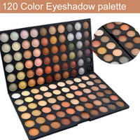 Wholesale Hk Professional - Eyeshadow Makeup 120 Full Color Palette Fashion Eye Shadow 1# 2# 4# Professional Cosmetics HK Post