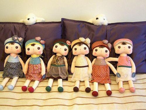 유아 완구 15 ''Baby Angela 봉제 인형 Metoo 박제 동물 6 개 토끼 인형 봉제 완구 2 개