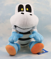 "Wholesale Dry Bones Plush Doll - Super Mario Brothers Plush Toy 10"" Dry Bones Stuffed Plush Toy Cartoon Animal Toys Doll Free shipping"