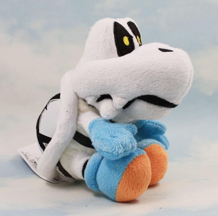 7 inç Kuru Kemikler Peluş Oyuncak Süper Mario Bros Yumuşak Peluş oyuncak Kuru Kemikler Peluş Şekil Bebek