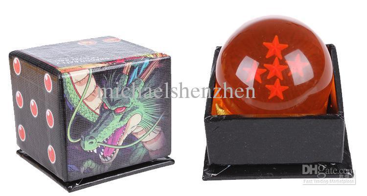 애니메이션 dragonBall 7 개의 크리스탈 볼 7 개 세트 상자 용 드래곤 볼 Z 완료 4.5 CM A001