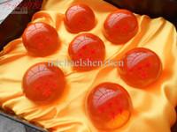 dragonball z star set achat en gros de-animation dragonBall 7 étoiles boule de cristal ensemble de 7 pcs nouveau dans la boîte dragon ball Z complet 4.5 CM A001
