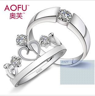 2017 Couple Rings Engagement Ring Wedding Ring From Liu518