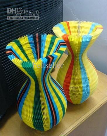 Populaire Coconut Cap Vaas Papieren Cap Sun Magic Hat gevouwen hoed papier cap chrismas decor 200 stks 100st