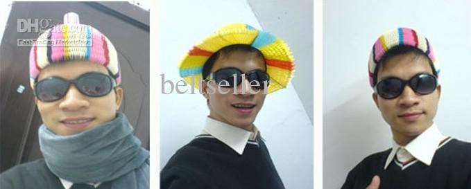 Chapeau de papier de Vase Chapeau magique de Sun Casquette de noix de coco Chapeau de chapeau de chapeau plié Chrismas Decor