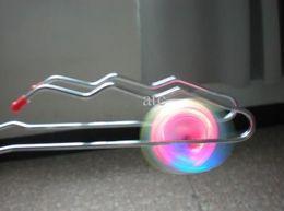 $enCountryForm.capitalKeyWord Canada - Free shipping Magic gyro Flash yoyo Wheels Auto Flip ball child Kids Led Toys 50pcs lot