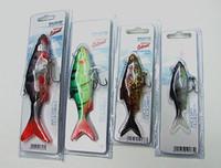 Wholesale Fake Hooks - Fishing Lure Soft Bait Crucian Shape Bait Fishing Tackle Lifelike Fake Bait with Three Anchor Hook