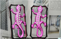Wholesale Diamond Bumper Iphone 4s - Luxury Diamond House Lizard Bumper Frame Case Cover Skin for iPhone 4 4S 4cosors