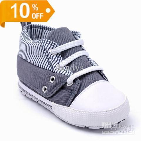 Children 2013 Fall Autumn Boys Cute Gray Canvas Toddler Shoes Baby Shoes 6da3a1d38
