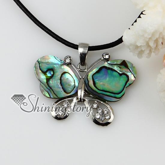 new butterfly patchwork sea water rainbow abalone black oyster Shell mother of pearl crystal rhinest Mop80109 cheap china fashion jewellery