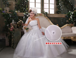 Wholesale Lack Back - Lack up back Flowers Bridal gown wedding dress evening long dress Long tail section dress 476