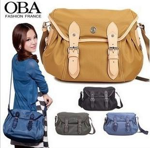 Nylon Canvas Bag Women Vintage X Body Satchel Messenger Shoulder ...
